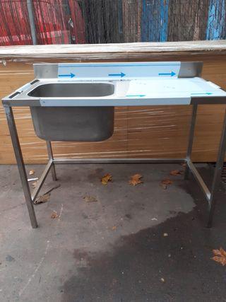 Fregadero industrial especial para lavavajillas