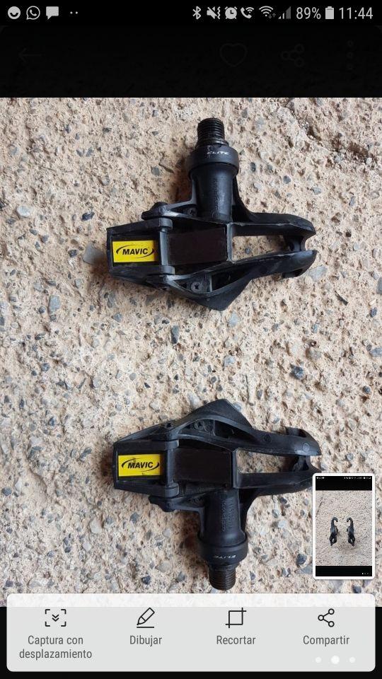 pedales automáticos mavic