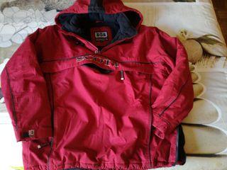 Canguro SCOTT tipo carhartt rojo de invierno