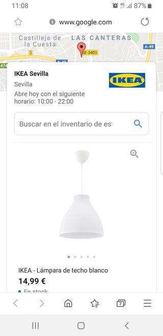 Lámparas Ikea en mano Sevilla WALLAPOP segunda de en YymI7fgb6v