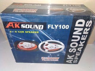 Altavoces Coaxiales 6x9 AK Sound 100W RMS