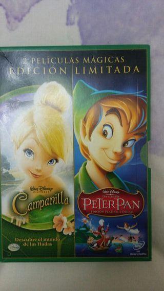 Películas Campanilla y Peter Pan