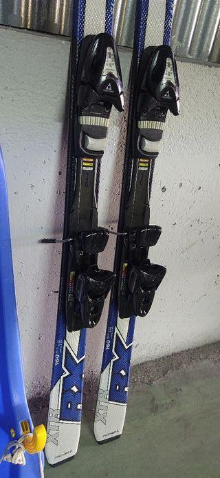 esquís fischer 160