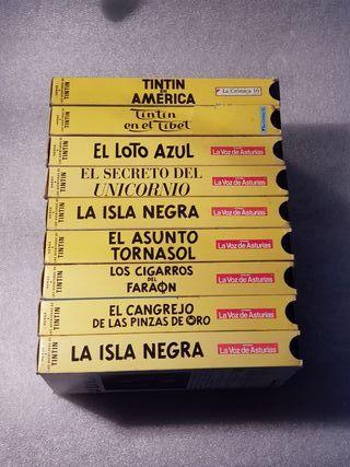 Películas Tintín en VHS