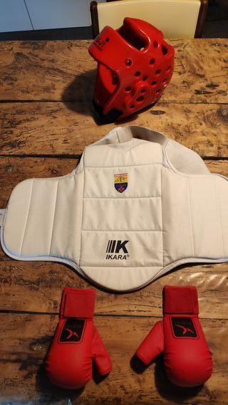 Protecciones niño Karate, boxeo, kickboxing