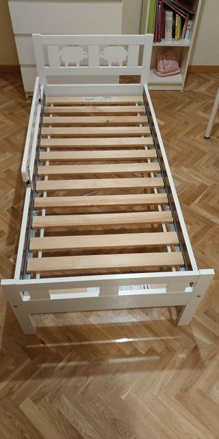 Cama juvenil Ikea kritter