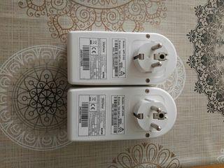 Pareja Adaptadores PLC-Ethernet