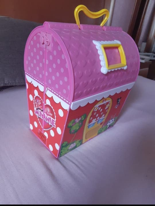 casita maletín minie mouse