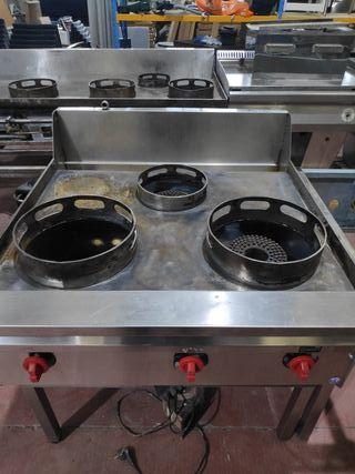 cocina wok tres fuegos
