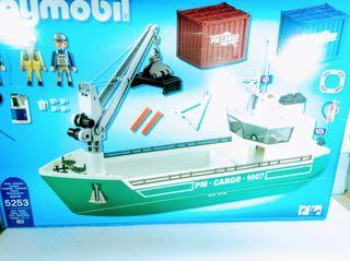Playmobil barco carguero Pm