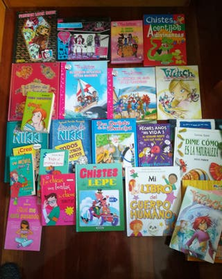 lote libros juveniles/infantiles