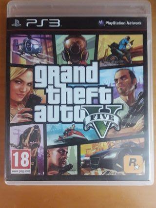 Grand Theft Auto V para ps3