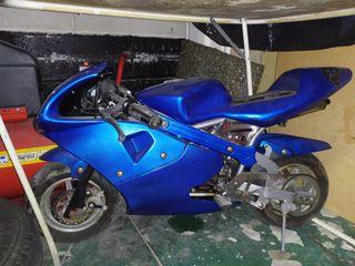 Mini moto para niño o adulto 49cc