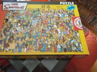 Puzzle 1000 piezas Los Simpson