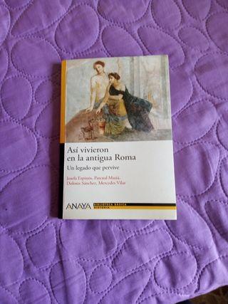 Libro historia romana