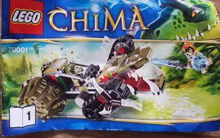 Lego Legendsbof Chima 70001