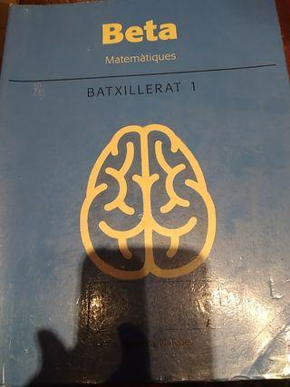 libro matematiques
