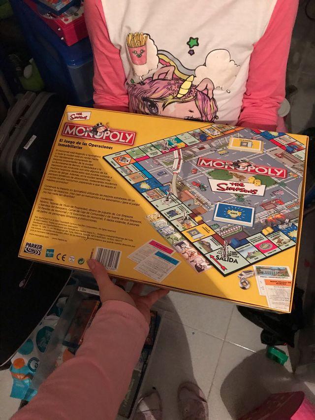 Juego de mesa Monopoly de los simpsons