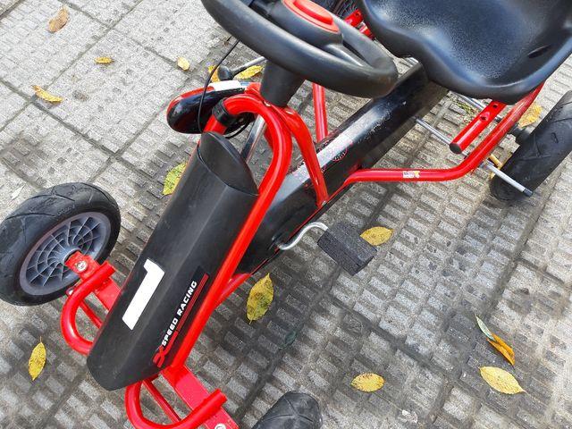 kart de pedales
