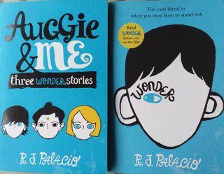 2 Books R J Palacio inglés
