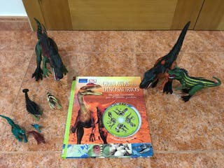 Gran Atlas de los dinosaurios y figuras