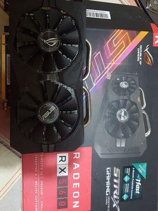 Gráfica Radeon RX560