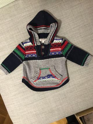 Sudadera Jersey Abrigo sueter Kenzo Baby 6 meses