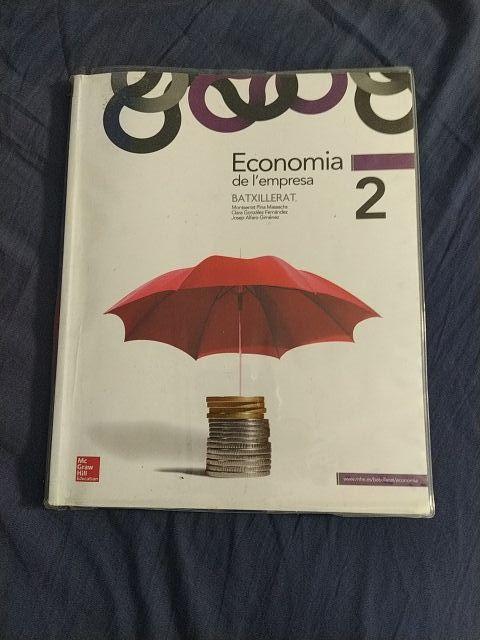 libro economía de la empresa bachillerato