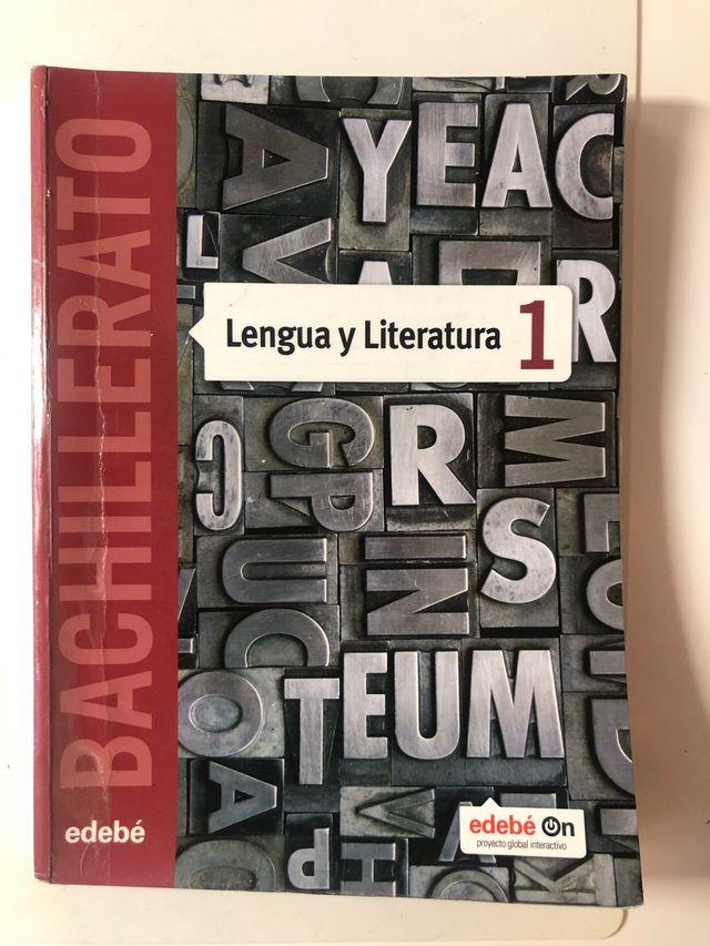 Libro Lengua y Literatura 1 edebé