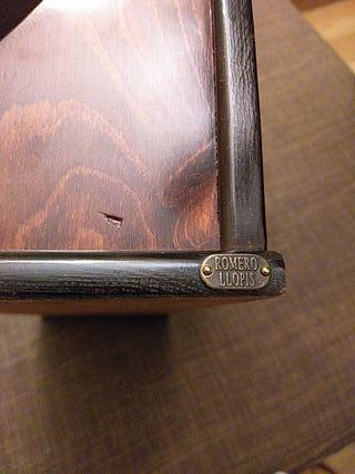 Portapapeles antigüo madera mesa despacho