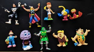 Lote Figuras pvc diferentes series