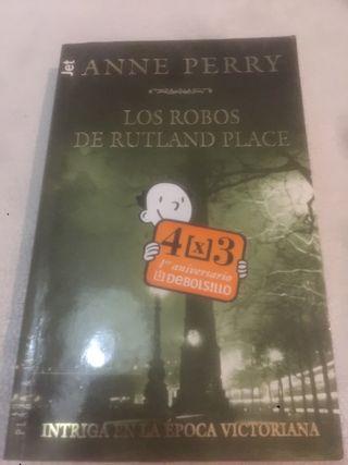 Libro Los robos de Rutland Place