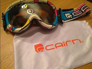 Máscara/gafas/ulleres esquí CAIRN junior