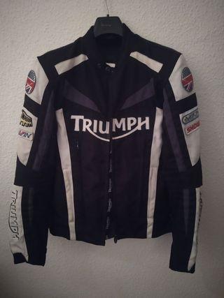 Chaqueta moto Triumph