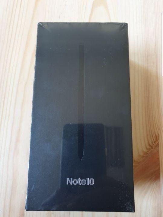 Samsung Note 10 de 256 Gb Negro