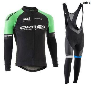 Equipación ciclismo térmico Orbea-8 t.M