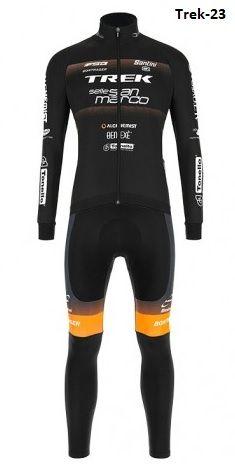 Equipación ciclismo termal Trek-23 t.XL