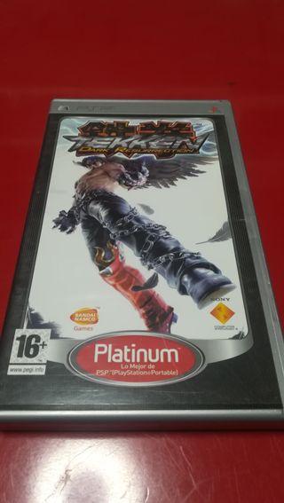 Juego PSP Tekken Dark