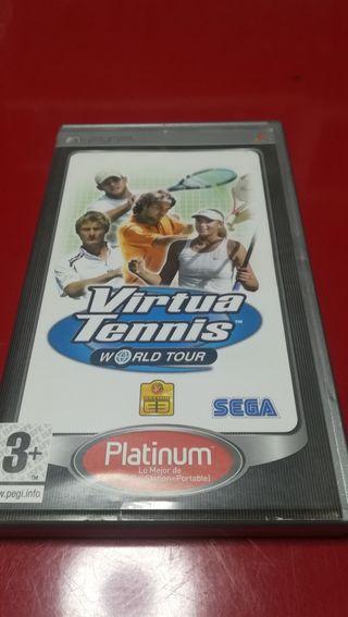 Juego PSP Virtua tennis