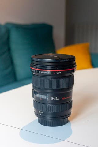 Objetivo Canon EF 17-40mm f4 L USM