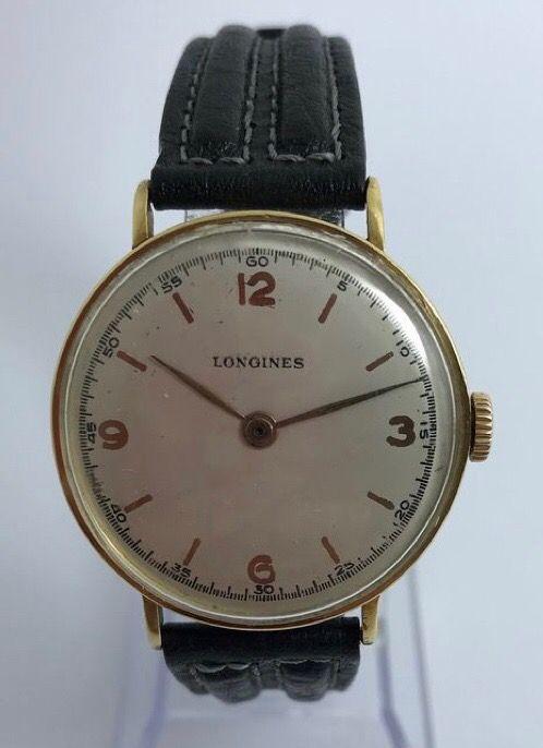 Reloj longines oro 18kt. Caballero