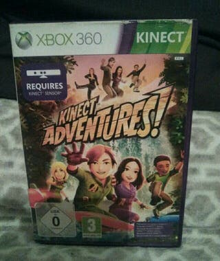 juego xbox360 kinect adventures