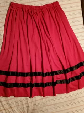 falda pastora XXL