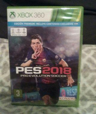 juego xbox360 pes 2018 proevolution soccer