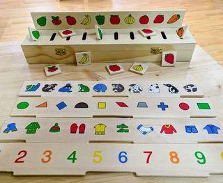 Caja de clasificación