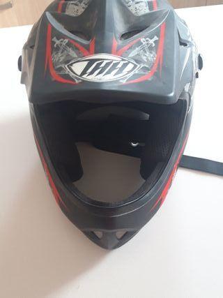 casco para bici de descenso