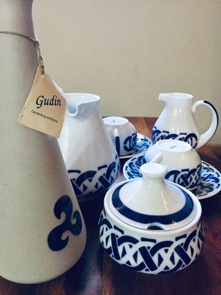 Juego de desayuno SARGADELOS cerámica