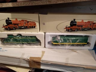 Tren eléctrico mas locomotoras