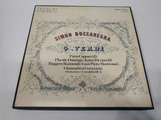 Triple Vinilo Verdi - Simon Boccanegra
