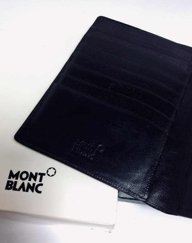 Billetera Cartera Portatarjetas Montblanc Original